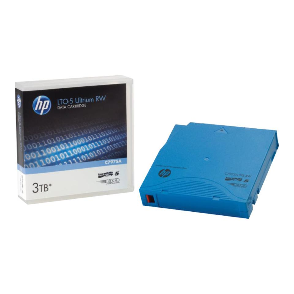 HP LTO-5 Ultrium 3 TB RW Data Cartridge - C7975A