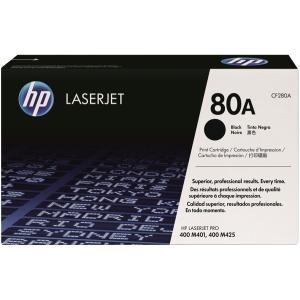 HP 80A CF280A Toner Cartridge 2.56K Black