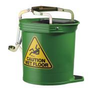 Oates Contractor Mop Bucket Green 16lt Iw-020g