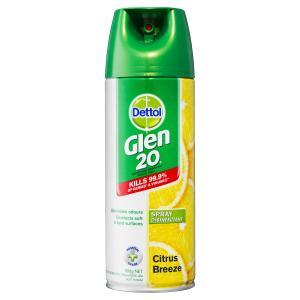 Glen 20 Dettol Disinfectant Citrus Breeze 300g