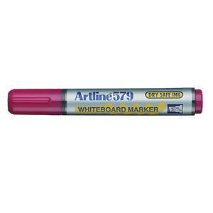 Artline 579 Whiteboard Marker Chisel Pink