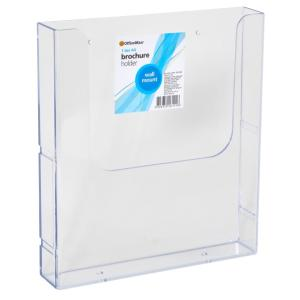 Officemax Wall Mounted Brochure Holder A4 1 Tier