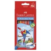 Faber-Castelle 16-114462 Pencil Watercolour With Brush Pack 12