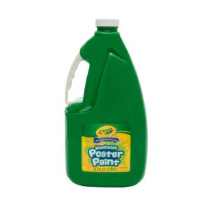 Crayola Washable Poster Paint 2 Litres Green