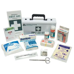 Livingstone First Aid Kit Class C 1-10 People PVC Case