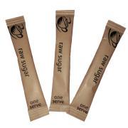 ISM Single Serve Raw Sugar Sticks 3g Carton 2000