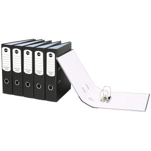 A4 Lever Arch File Grey/Black Board
