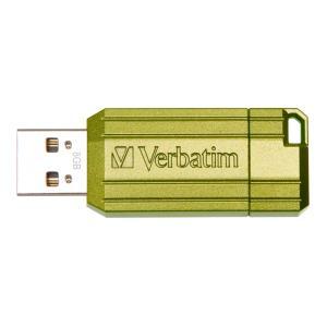 Verbatim Store N Go Pinstripe 8 GB USB 2.0 Flash Drive - Eucalyptus Green