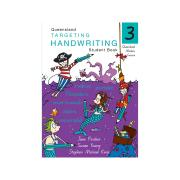 Pascal Press Targeting Handwriting QLD Student Book 3 Jane & Young Pinsker