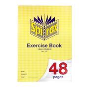 Spirax 112 A4 Exercise Book 48 Pages 14mm Ruled