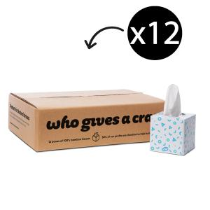 Who Gives A Crap Forest Friendly Tissues Carton 12