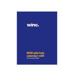 Winc Calendar Refill Side Hole 102 x 76 mm 2019