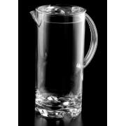 Polycarbonate Jug Straight Sided With Lid 2l