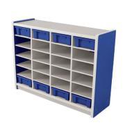 Nadoli Kid Smart Storage 24 Unit 900H x 1318W x 400Dmm Blue