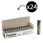 Energizer Industrial EN91 1.5V Alkaline AA Battery Box 24