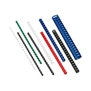 GBC 21 Loop A4 Plastic Binding Combs - 12 mm - Blue - 100-Pack