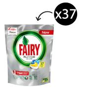 Fairy Autodish Tab Platinum Lemon Pack 37