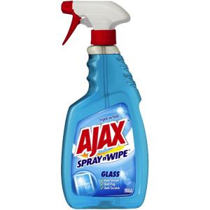Ajax Spray N Wipe Glass Cleaner Trigger 500ml