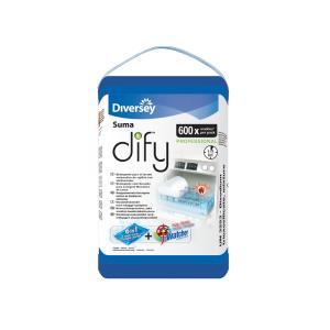 Diversey Suma Dify Automatic Dishwashing Powder Sachets Carton 40