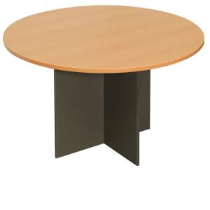 Rapid Line Round Table H X W X Dmm BeechIronstone - Staples round table