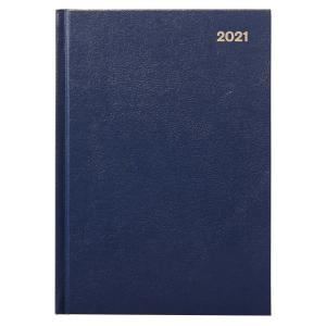 Winc 2021 Hardcover Diary A5 Week to View Navy