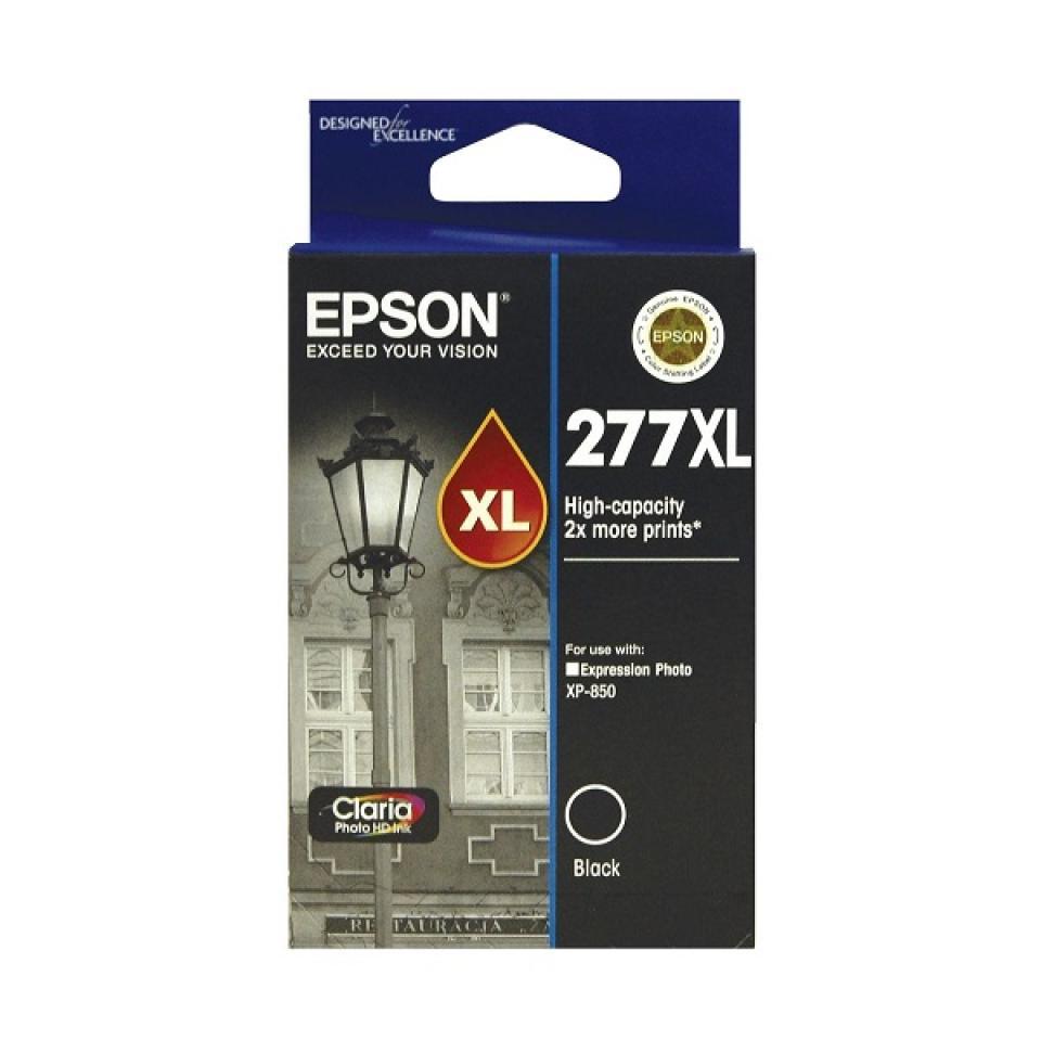 Epson 277XL Black Ink Cartridge - C13T278192