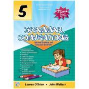 Grammar Conventions Book 5 3rd Ed Teachers 4 Teachers Harry O'Brien
