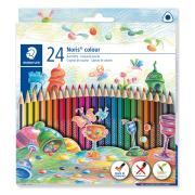 Staedtler Noris Triangular Colour Pencil Box 24
