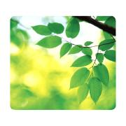 Fellowes recycled Mouse Pad Green Leaves