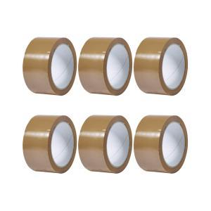 Winc Packaging Tape Pp31 Hot Melt 38mmx75m Brown Pack 6 Rolls