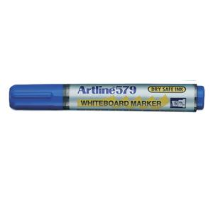Artline 579 Whiteboard Marker Chisel Tip 2.0-5.0mm Blue