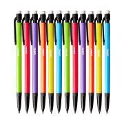Winc Postscript Mechanical Pencil 0.5mm Assorted Colour Barrels Box 12