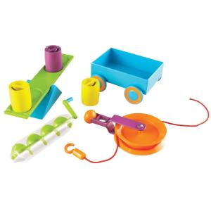 Steam Learning Resources Simple Machines Activity Set