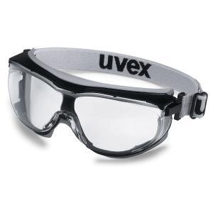 Uvex Carbonvision 9307-385 Goggles Black Frame Clear Supravision Lens Each