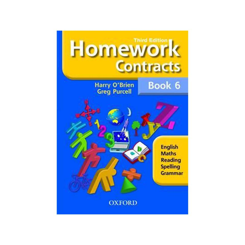 Oxford Homework Contracts 3rd Ed Book 6 Author Harry O'Brien