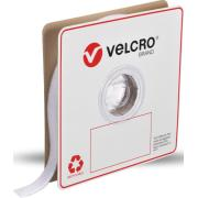VELCRO Brand Grip Strips Loop Only 25mm x 25m White