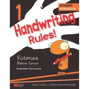 Handwriting Rules 1 Vic Ac  Authors Roach & Minter