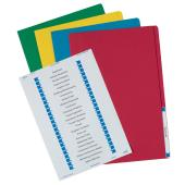 Avery Manilla Folder with Labels Foolscap 355 x 241 mm Assorted Colours 20 Files