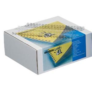 GBC 21 Loop A4 Wire Binding Combs - 10 mm - Black - 100-Pack