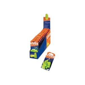 Uvex X-Fit Xf-Rt Lime Foam Uncorded Ear Plug Pack 5 Pairs