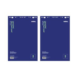 Winc Recycled Flip Chart Pads Pack 2