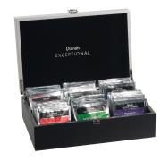 Dilmah Exceptional Tea Chest Luxury Presenter 6 Compartments