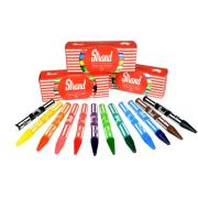 Strand Crayons Assorted Colours Pack of 12