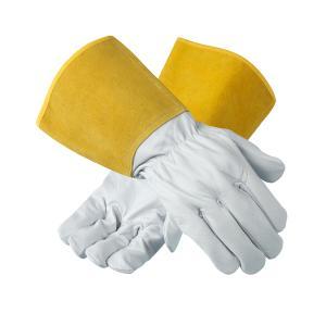 Ansell Activarmr 43-217 Leather Tig Welding Gauntlet Glove