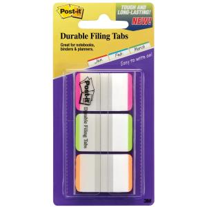 Post-It Adhesive Tab 686L 25mm Assorted Colours 22 Tabs