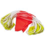 Paramount Safety Bun30Dn High Visibility Day/Night Bunting Fluoro PVC Triangle Flags 30m