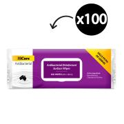 HiCare Antibacterial Disinfectant Surface Wipes Pack of 100