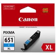 Canon PIXMA CLI-651XLC Cyan Ink Cartridge
