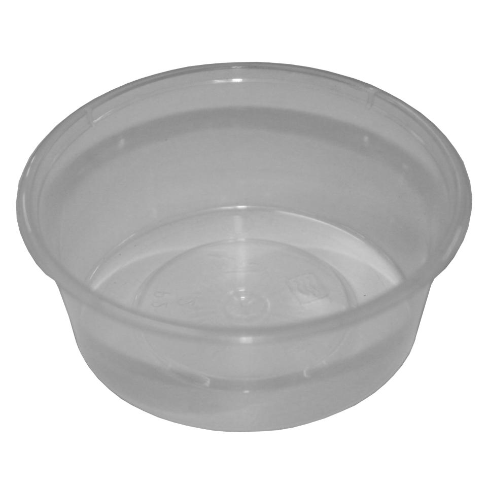 Livingstone Round Sauce Container 70ml Clear Carton 1000