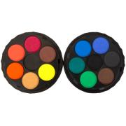 Koh-i-noor Watercolour Paint Discs 12 Assorted Colours